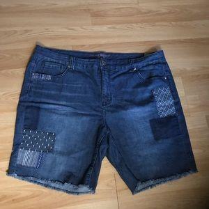 Seven women's jean shorts 24